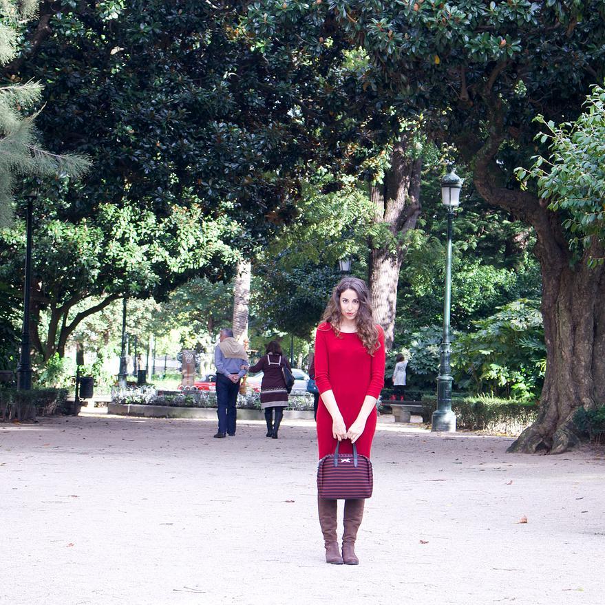 outfit rojo que te quiero rojo